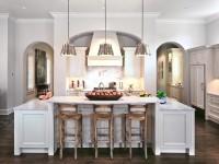Кухонная столешница из белого камня