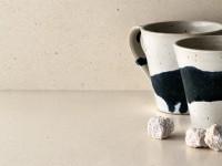 столешница из камня белая cesarstone